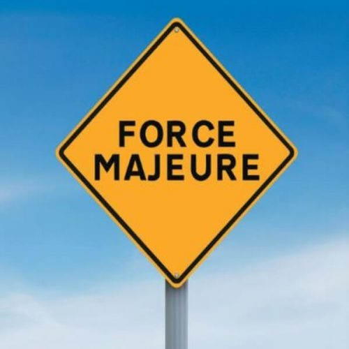 Musterklausel für Force Majeure