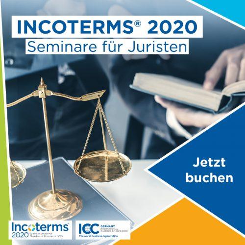 Die Incoterms für Juristen inkl. Zertifikat nach §15 FAO